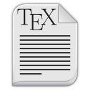 text-x-tex-icon